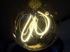 画像2: エジソン型LED電球/球状ハートフィラメント (2)
