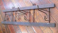 画像3: 折畳み/ウッド×ワイヤーコートハンガー (3)