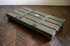 画像8: ドイツZARGES社イギリス軍折り畳みアルミコンテナ (8)