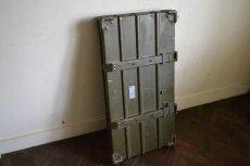 画像9: ドイツZARGES社イギリス軍折り畳みアルミコンテナ (9)