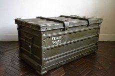 画像1: ドイツZARGES社イギリス軍折り畳みアルミコンテナ (1)