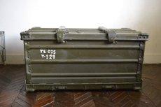 画像2: ドイツZARGES社イギリス軍折り畳みアルミコンテナ (2)