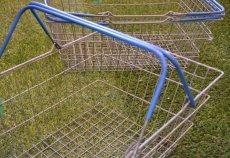 画像3: UK60sヴィンテージワイヤーバスケット (3)