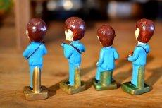 画像6: THE Beatlesビートルズ首振り人形セット (6)