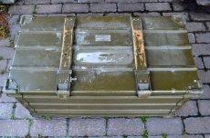 画像3: ドイツZARGES社イギリス軍折り畳みアルミコンテナ  (3)