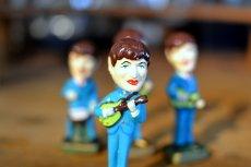 画像3: THE Beatlesビートルズ首振り人形セット (3)