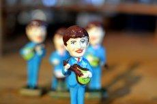 画像4: THE Beatlesビートルズ首振り人形セット (4)