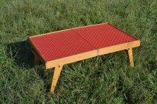 画像5: 60s木製ドット柄ピクニックテーブル (5)