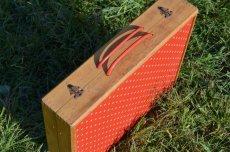 画像7: 60s木製ドット柄ピクニックテーブル (7)