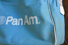 画像10: ヴィンテージPANAMパンナム・エアラインバッグ (10)