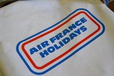 画像8: ヴィンテージAIR FRANCEエアフランス・エアラインバッグ (8)