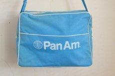画像2: ヴィンテージPANAMパンナム・エアラインバッグ (2)