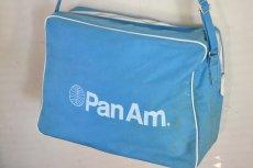 画像4: ヴィンテージPANAMパンナム・エアラインバッグ (4)