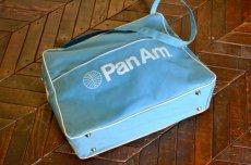 画像5: ヴィンテージPANAMパンナム・エアラインバッグ (5)