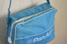 画像3: ヴィンテージPANAMパンナム・エアラインバッグ (3)