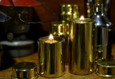 画像6: デンマーク製真鍮オイルランプ/Mサイズ (6)