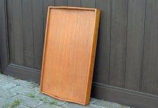 画像7: ヴィンテージ・ウッドトレーテーブル (7)