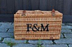 画像1: F&MハンパーバスケットM (1)