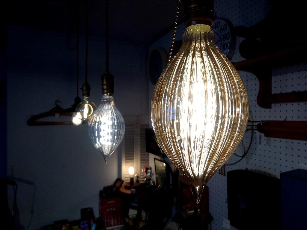 画像1: エジソン型LED電球/マキシムGD (1)