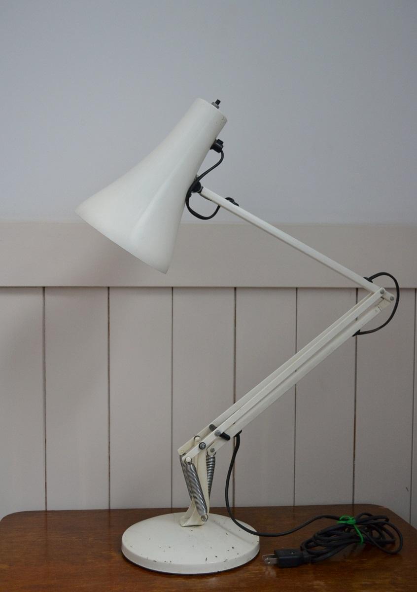 画像1: アングルポイズAPEX90・デスクランプ/ホワイト (1)