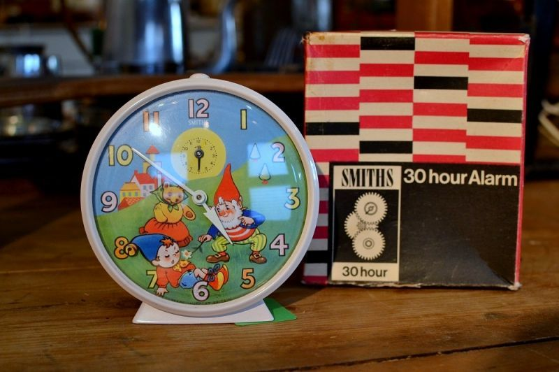 画像1: SMITHSスミスアラーム時計NODDY 30hour alarm (1)