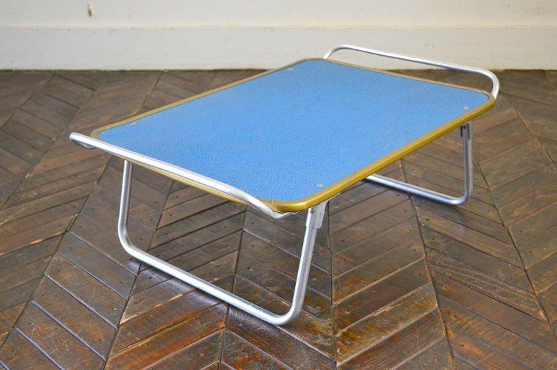 画像1: UK80sトレー型ピクニックテーブル  (1)
