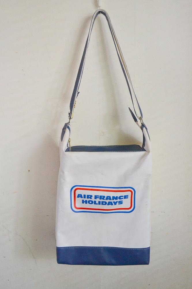 画像1: ヴィンテージAIR FRANCEエアフランス・エアラインバッグ (1)