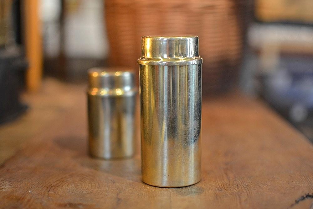 画像1: デンマーク製真鍮オイルランプ/Lサイズ (1)